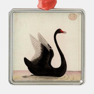 BLACK SWAN ART ORNAMENT