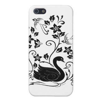 Black Swan Cover For iPhone SE/5/5s