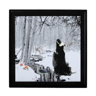 Black Swan Jewelry Box