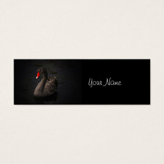 Black Swan Mini Business Card