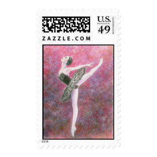 Black Swan Postage Stamp