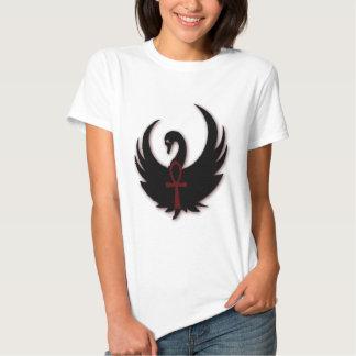 Black Swan with Ankh T Shirt