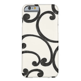 Black Swirling iPhone 6 case