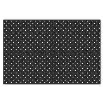 Black Swiss Dots   Tissue Paper
