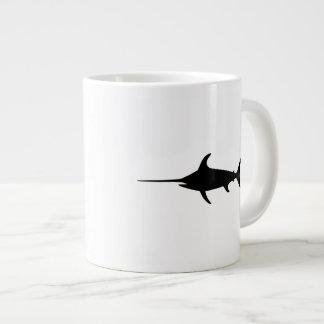 Black Swordfish Giant Coffee Mug