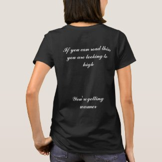 Black T Shirt - If you can read this