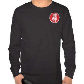 Black t-shirt Long Mango Kyu