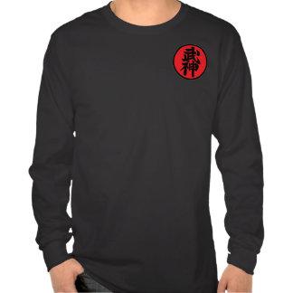 Black t-shirt Long Mango Shidoshi-Ho