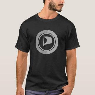 Black T-shirt - Symbol PPP - Grey
