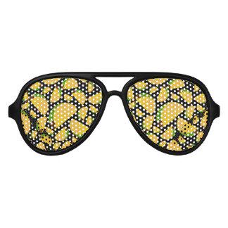 Black tacos aviator sunglasses
