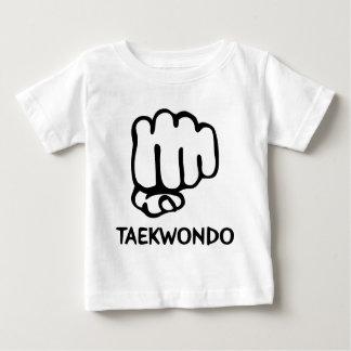 black taekwondo icon baby T-Shirt