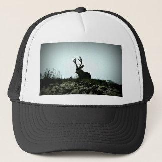 Black Tail Buck Trucker Hat