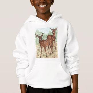 black tail deer hoodie