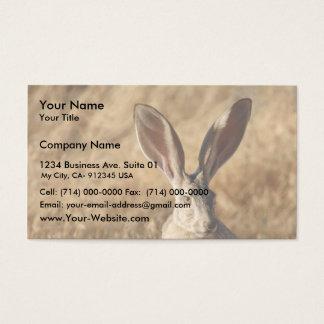 Black-tailed Jackrabbit Business Card