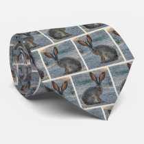 Black tailed jackrabbit tie