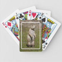 Black-tailed Prairie Dog Bicycle Playing Cards