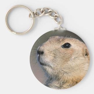 Black Tailed Prairie Dog Keychain