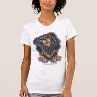 Black Tan CKCS Sit Pretty T Shirts
