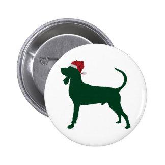 Black & Tan Coonhound 2 Inch Round Button