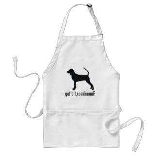 Black & Tan Coonhound Adult Apron