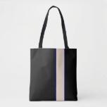 Black & Tan Designer Tote Bag