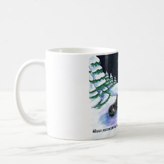 Black & Tan English Shepherd Christmas Mug
