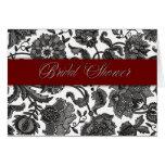 Black Tapestry - Bridal Shower Cards