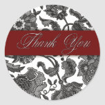 Black Tapestry - Thank You Sticker