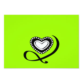Black Tattoo Heart Swirls love graphics logo icons Card