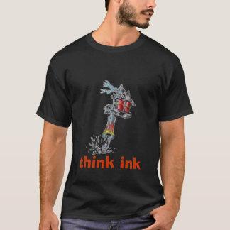 Black Tattoo Machine Tee Shirt