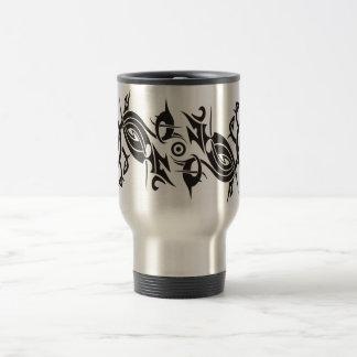 Black Tattoo Tribal 2 Travel Mug
