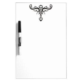 BLACK TATTOO TRIBAL III + your idea Dry Erase Board