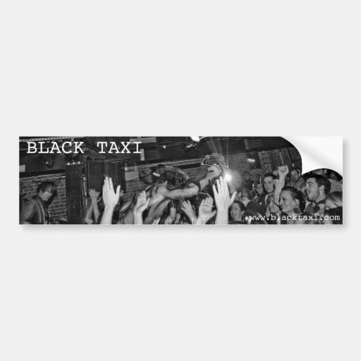 Black Taxi @ Mercury Lounge Bumper Sticker
