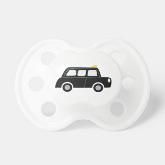 Black Taxi BooginHead Pacifier