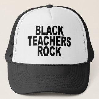BLACK TEACHERS ROCK Caps.png Trucker Hat