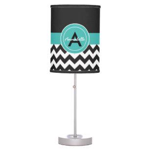 Monogram Table Amp Pendant Lamps Zazzle