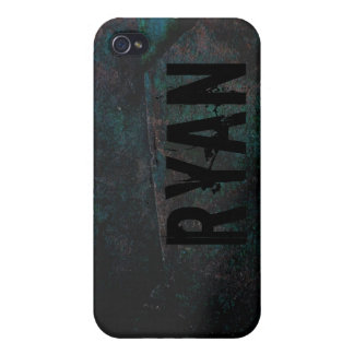 Black Teal Cool Rock Texture IPhone 4 Speck Case iPhone 4/4S Covers