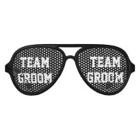 Black team groom bachelor party shades