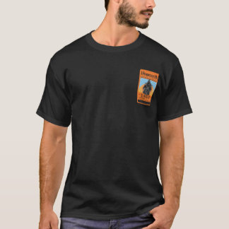 Black Tee with 1853 Train Label