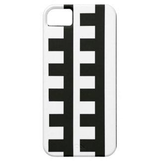 Black Teeth  Comb Stripes iPhone SE/5/5s Case