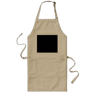 Black Template Aprons