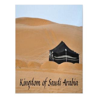 Black Tent Magnet Card Kingdom of Saudi Arabia