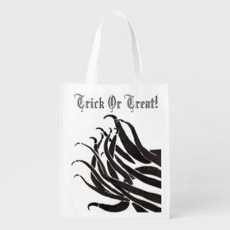 Black Tentatcles Trick or Treat Bag