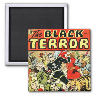 Black Terror Comic Fridge Magnet