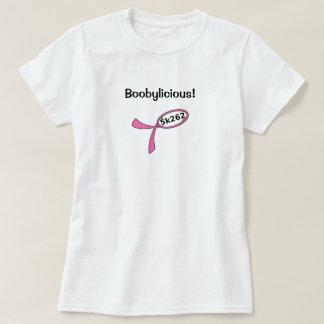 Black text: Boobylicious! T Shirts