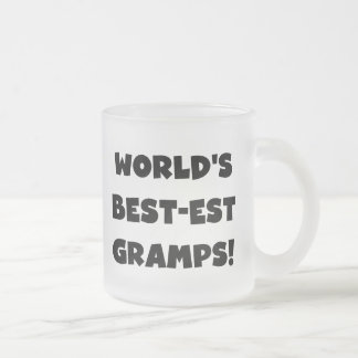 Black Text World's Best-est Gramps Gifts Coffee Mugs