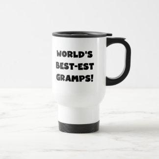 Black Text World's Best-est Gramps Gifts Mugs