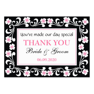 Wedding Gift Thank You Cards Pack : Wedding Thank You Business Cards and Business Card Templates Zazzle