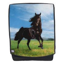 Black Thoroughbred Backpack