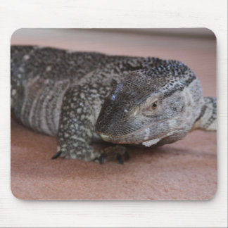 Black Throat Monitor Mouse Pad